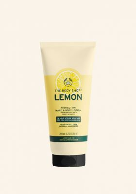 Lemon Protecting Hand and Body Lotion
