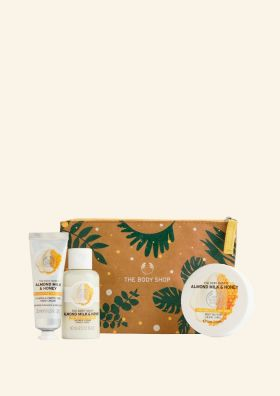 Almond Milk & Honey Beauty Bag