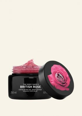 British Rose Body Scrub