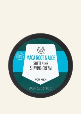 Maca Root & Aloe Shaving Cream
