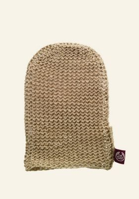 Hemp Natural Body Mitt