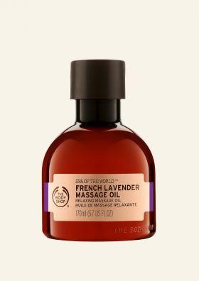 French Lavender Massage Oil
