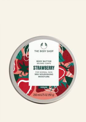 Strawberry Body Butter