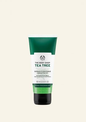Tea Tree Squeaky Clean Scrub
